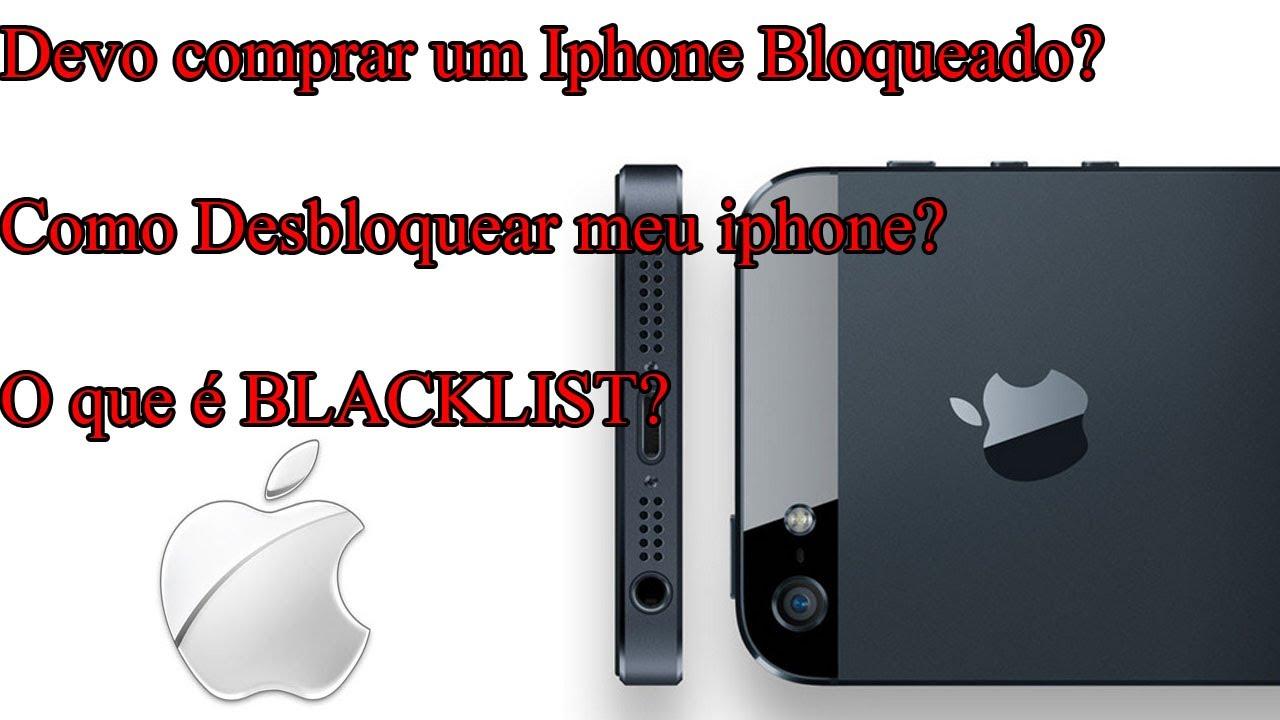 Desbloqueio De Iphone 2017: Desbloqueio via Blacklist
