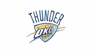 How to Draw the OKC Thunder Logo