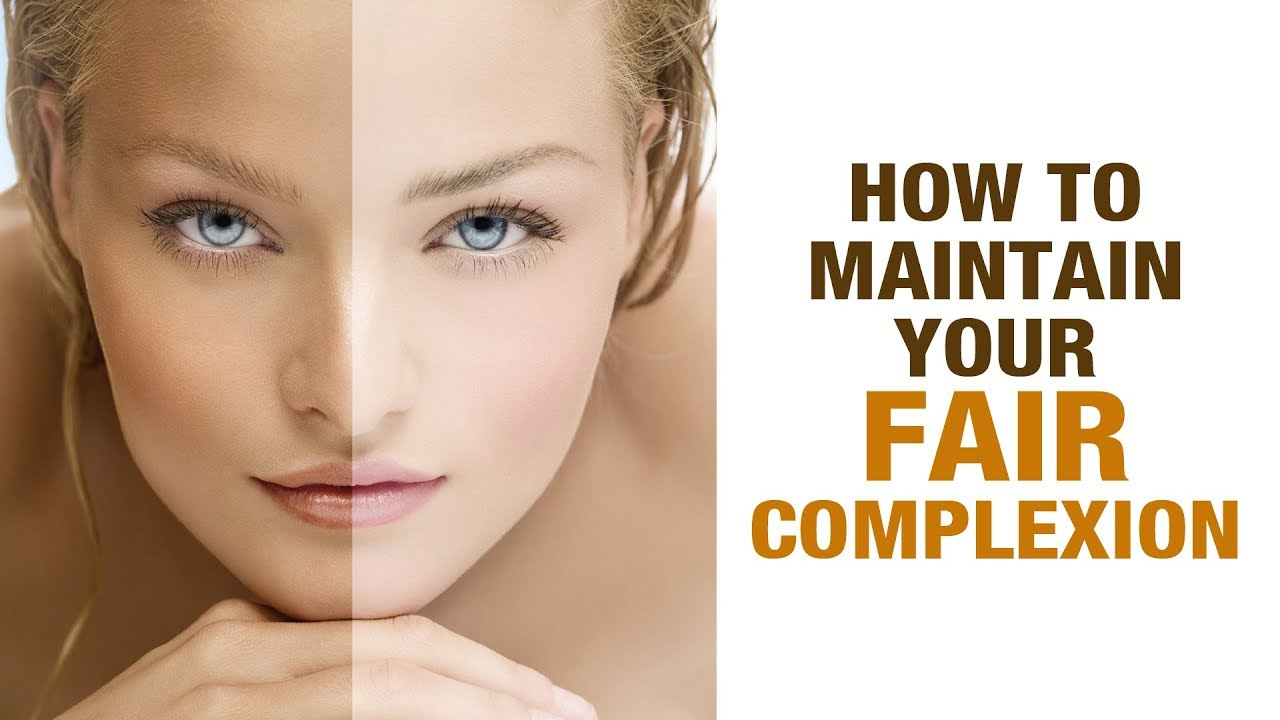 how to know your skin complexion