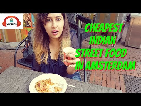 Cheapest Indian Street Food in Amsterdam: Vada Pav, Samosa Chaat, Chai in €1 at Tahoor