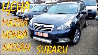 Авто из Литвы, цены мазда, субару, хонда, ниссан.