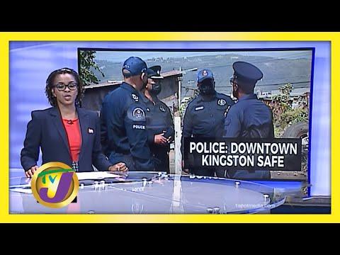 Jamaica's Police Commissioner Assures Downtown Market Safe   TVJ News