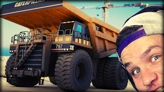 MONSTER DUMP TRUCK | Giant Machines 2017 #2