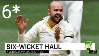 Lyon feasts on Indians in Adelaide     India vs Australia Test