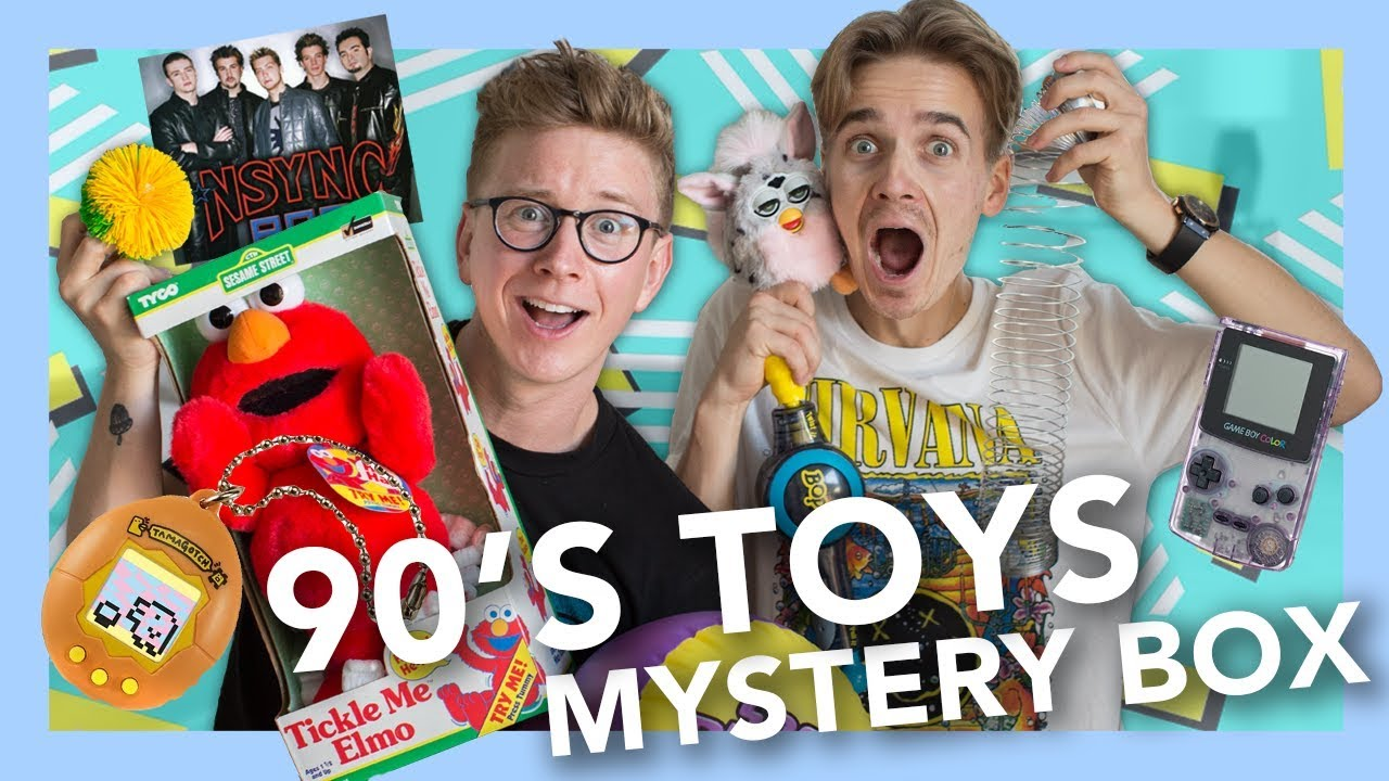 Toy Mystery Box : S toy mystery box ft joe sugg youtube