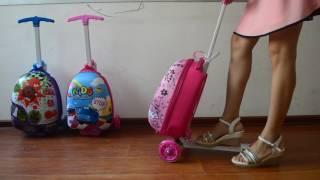 видео Купить Самокат-чемодан MICRO LAZY LUGGAGE (ML0011) по цене 12 500 руб. в интернет магазине Мой Маркет.Ру