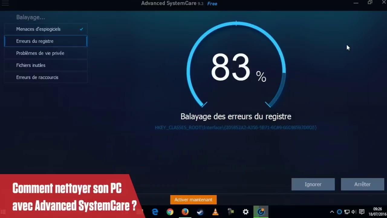 Télécharger Advanced SystemCare (gratuit) - Clubic