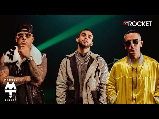 Mala Costumbre - Manuel Turizo x Wisin & Yandel | Video Oficial