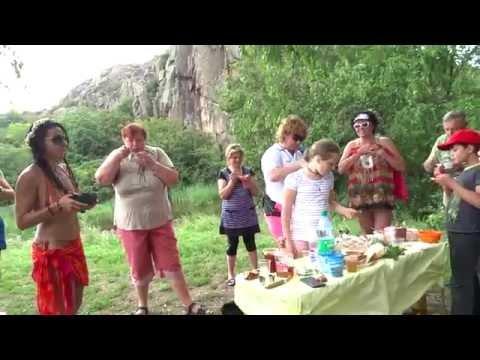 Актовский каньон с палатками - июнь 2016