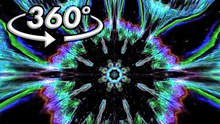 360° VR Visuals - Psychedelic Space Jellyfish