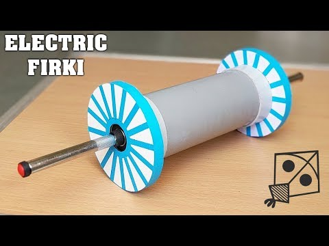 How to Make an Electric FIRKI / CHARKHI for Kite Festival