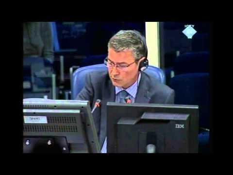 Ratko Mladic Trials in UN Court   Commander Of Bosnian Serb