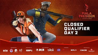 Closed Qualifier Piala Presiden Esports 2020 | Free Fire | Day 2