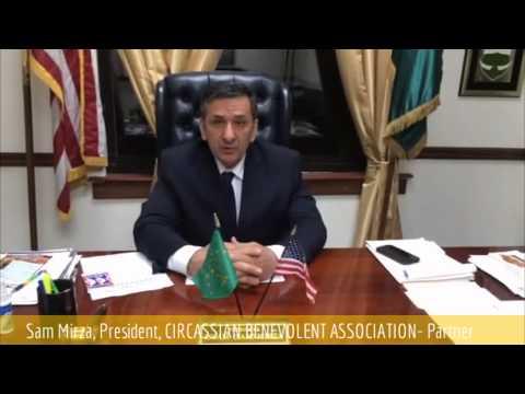 Mr. Sam Mirza, President of CIRCASSIAN BENEVOLENT ASSOCIATION- 2nd GOD Awards Partner