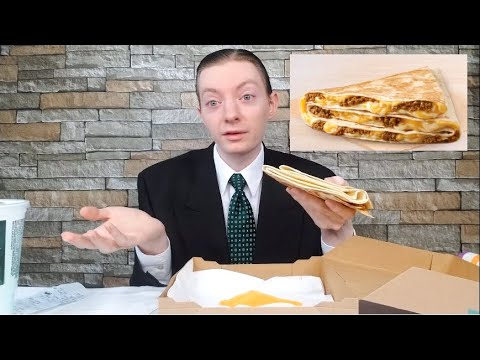 Taco Bell's NEW Grande Stacker Review!