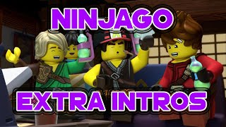 All Ninjago Extra Intros !