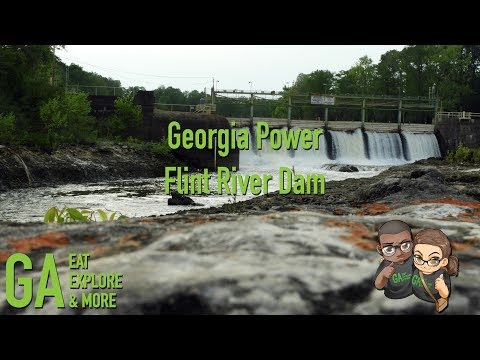 Georgia Power Flint River Dam Drone Footage