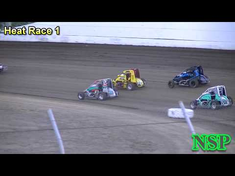September 2, 2018 Nw Focus Midgets Heat Races 1, 2 & 3 Grays Harbor Raceway