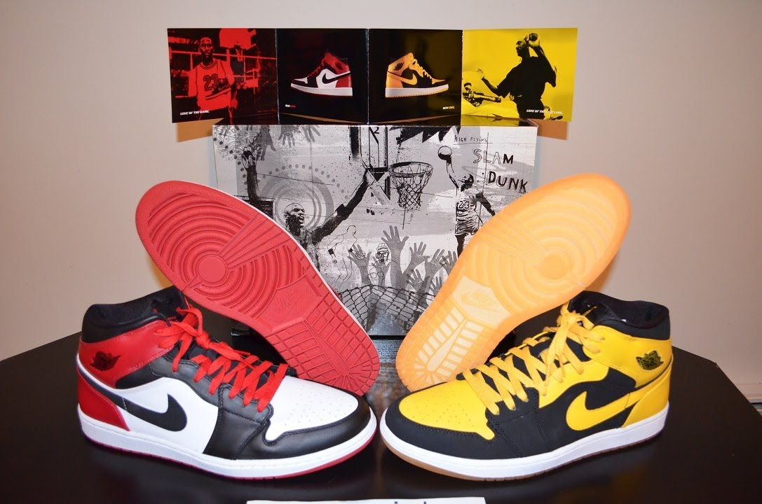 nike air jordan 1 old love new love