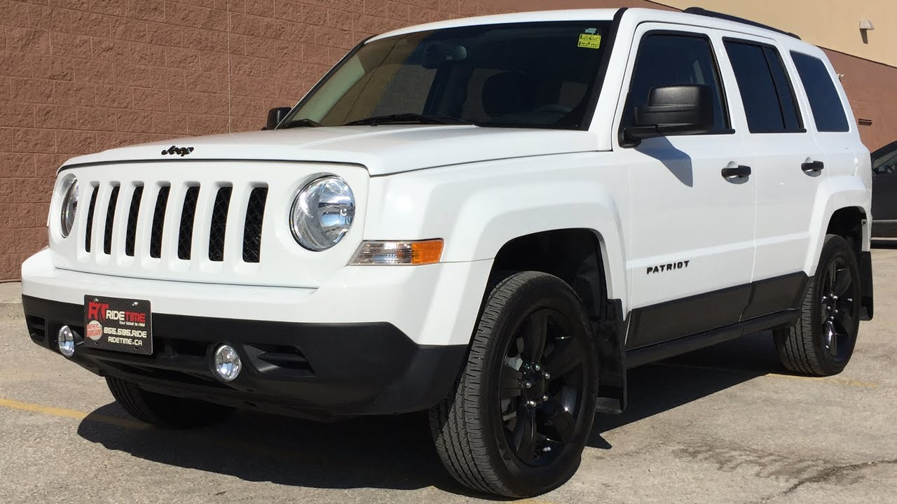 2015 jeep patriot altitude 4wd black alloy wheels. Black Bedroom Furniture Sets. Home Design Ideas