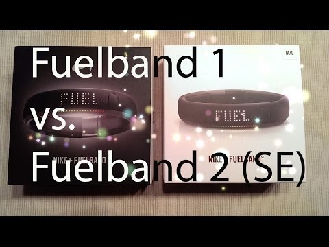 NIKE Fuelband 1 vs. 2 (SE): Material & (un)Boxing - 90 second review