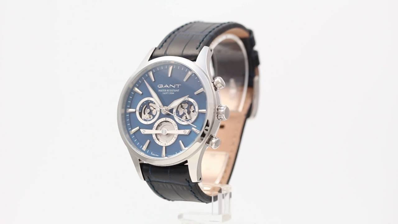 Gant Ridgefield GT005001 - Watchia.com - YouTube 1c7b0a12bde