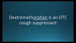 How to pronounce dextromethorphan (Robitussin) (Memorizing Pharmacology Flashcard)