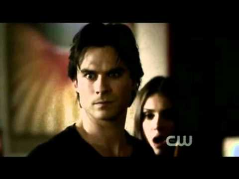 Damon & Elena- scenes 2x10 - The Sacrifice{{