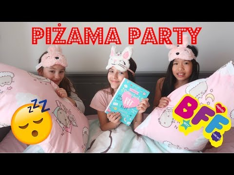 ♥ PIŻAMA PARTY Z BFF  Pusheen Girl