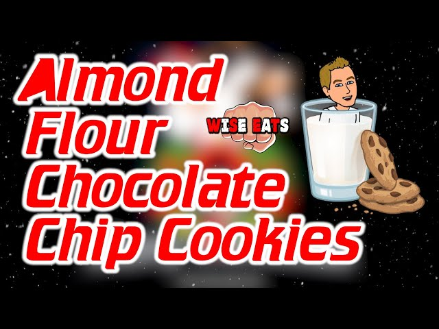 Almond Flour Chocolate Chip Cookies - Wise Eats