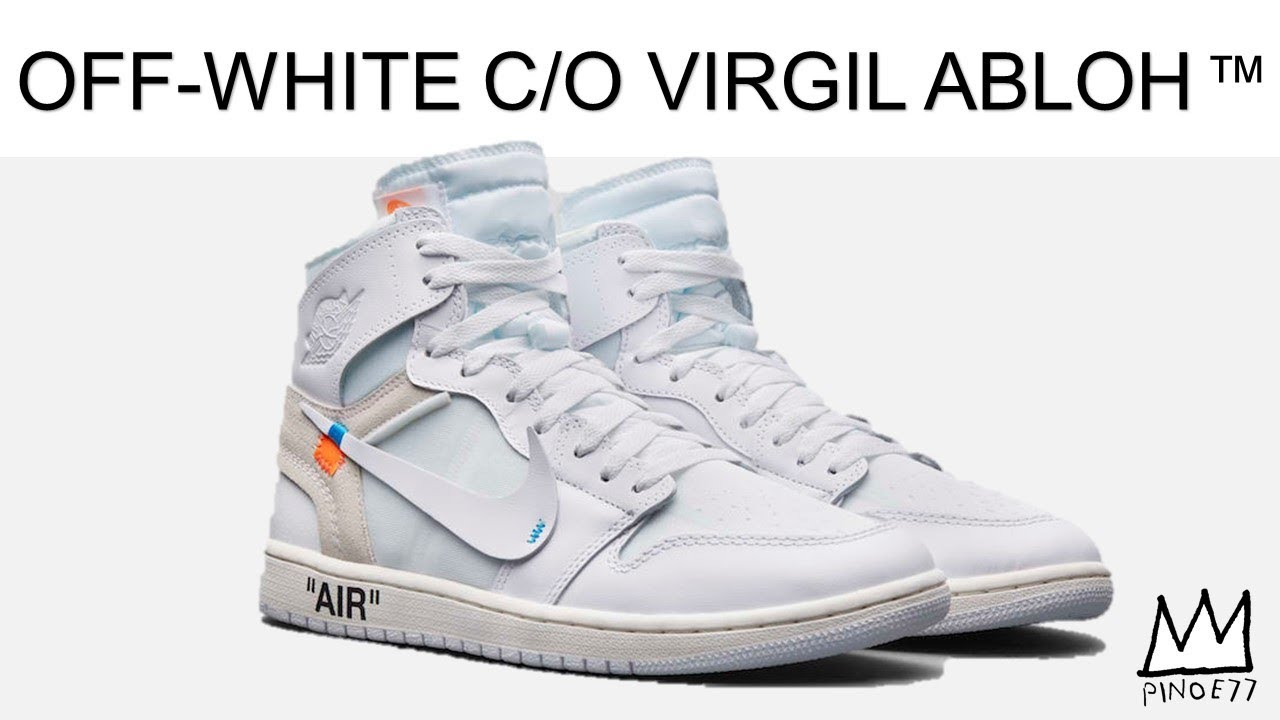 0135166e4 OFF WHITE JORDAN 1