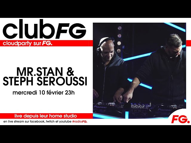 FG Club - Mr Stan & Steph Seroussi Live on Radio FG
