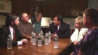 Governor Christie: Conversation with a Homeowner