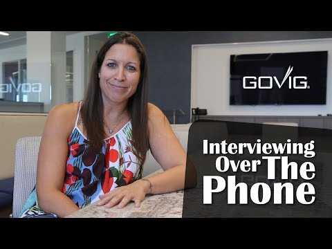 Interviewing Over The Phone