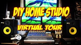 Video Tour Of My Diy Home Studio Part 1