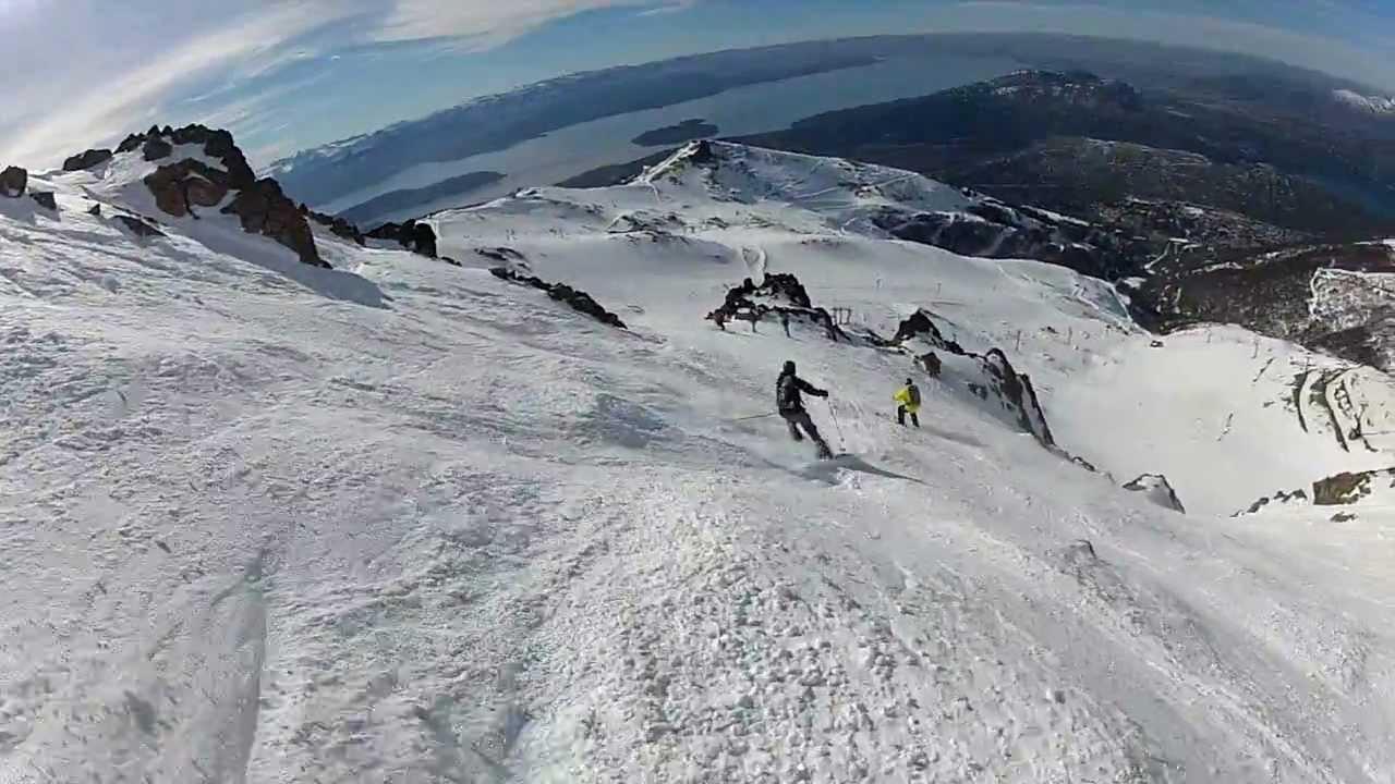 Gopro skiing cerro catedral argentina youtube for Fuera de pista cerro catedral
