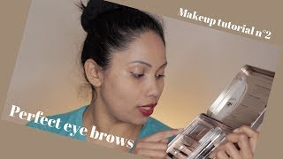 Eyebrow tutorial / makeup tutorial n°2