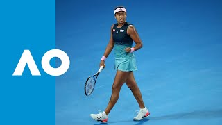 Final game: Naomi Osaka powers through to final (SF) | Australian Open 2019