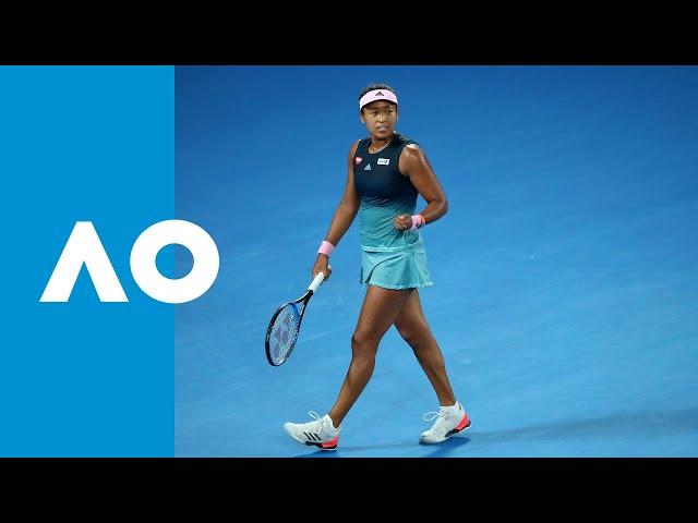 Final game: Naomi Osaka powers through to final (SF)   Australian Open 2019