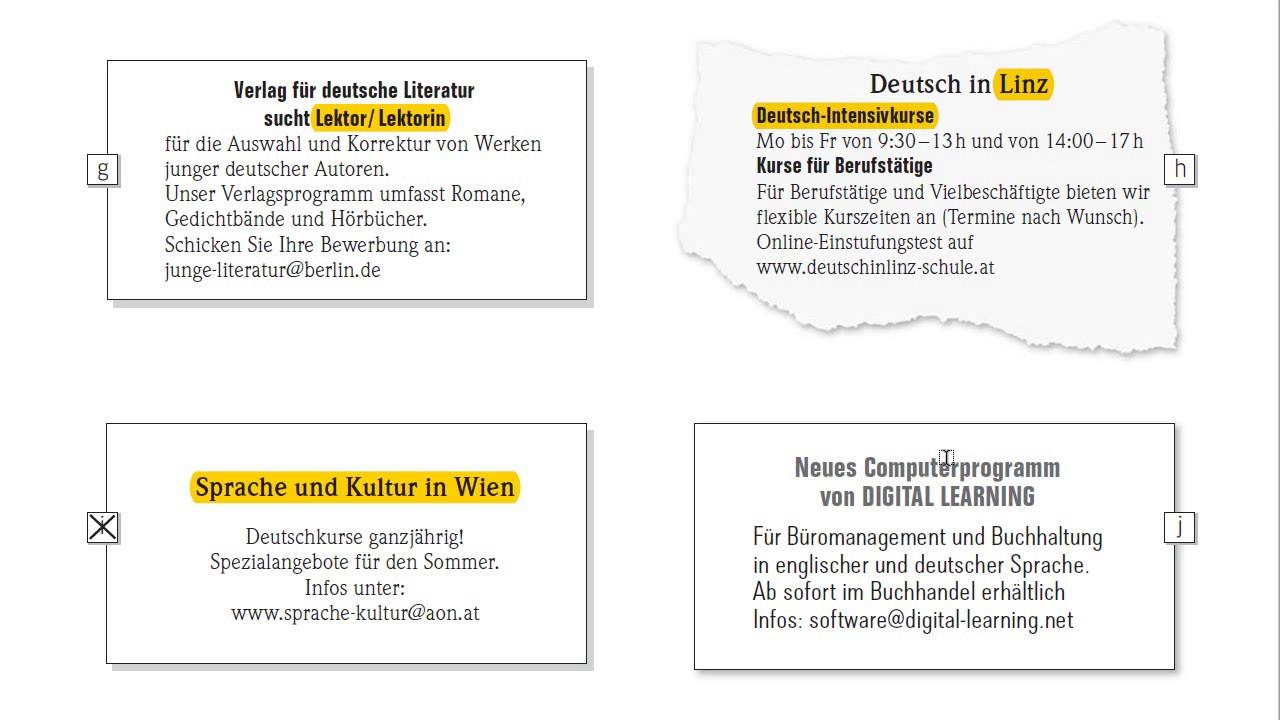 Тест b1 по немецкому языку гете института