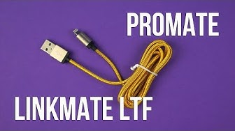 Распаковка Promate linkMate-LTF