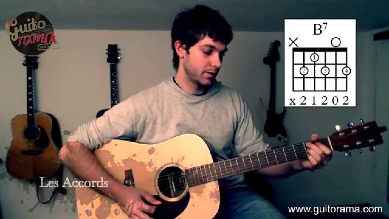 Cours De Guitare Les Champs élysées De Joe Dassin Chanson Facile Sans Barré Youtube