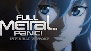 Full Metal Panic Season 4: Invisible Victory COMING SPRING 2018 CONFIRMED