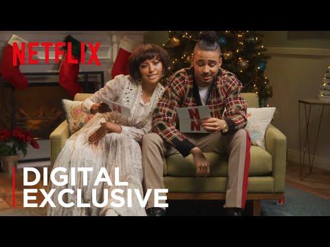 Kat Graham & Quincy Brown: Crazy Christmas Carol Reading   The Holiday Calendar   Netflix