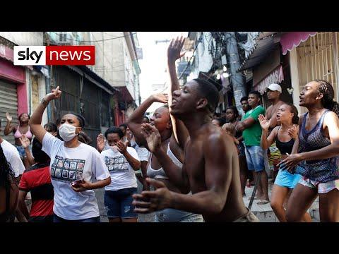 Deadly gang violence in Rio de Janeiro