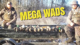Awesome DUCK HUNTING: Big Groups on the Ice 2018 Arkansas