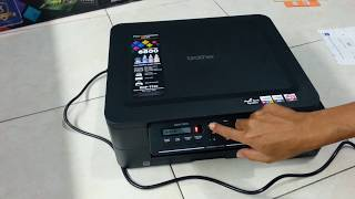 Unboxing printer Brother DCP T310