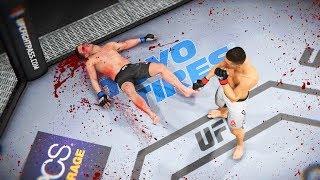 УБИЙСТВА в ВОСЬМИУГОЛЬНИКЕ в ПРЯМОМ ЭФИРЕ в ТОП 10 UFC 3 НОКАУТЫ