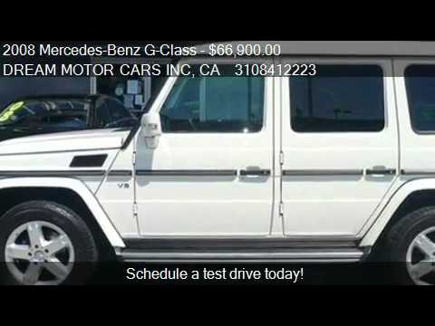 2008 mercedes benz g class g500 4x4 suv for sale in los an