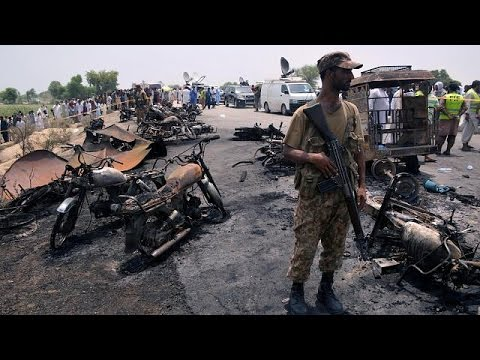 Pakistan oil tanker blast kills more than 140 people Mp3